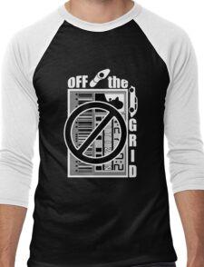 Off The Grid Men's Baseball ¾ T-Shirt