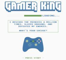 Gamer King Kids Clothes