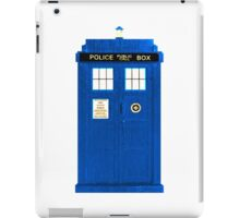 TARDIS Plain & Simple (Leggings & Duvet Cover) iPad Case/Skin