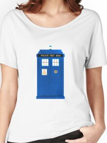 TARDIS Plain & Simple Women's Relaxed Fit T-Shirt