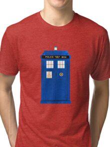 TARDIS Plain & Simple Tri-blend T-Shirt