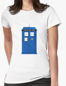 TARDIS Plain & Simple Womens Fitted T-Shirt