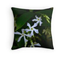 Star Jasmine - Early evening  Throw Pillow