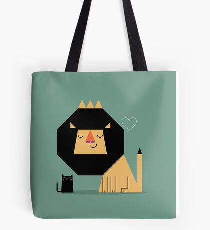 Love Lion Tote Bag