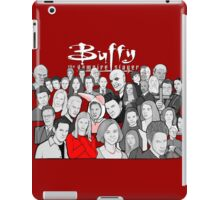 buffy the vampire slayer character collage iPad Case/Skin