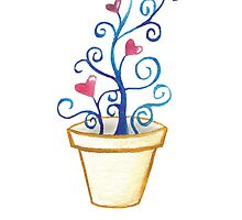 Potted Love Plant by Rootedbeauty