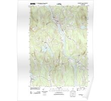 Maine USGS Historical Map Livermore Falls 20110902 TM Poster