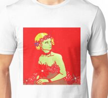 Green on red Unisex T-Shirt