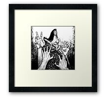 Wolf Hunt Framed Print