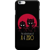 The Adventures of X & Zero iPhone Case/Skin