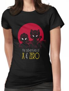 The Adventures of X & Zero Womens Fitted T-Shirt