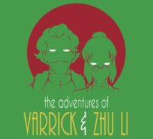 The Adventures of Varrick & Zhu Li Kids Clothes