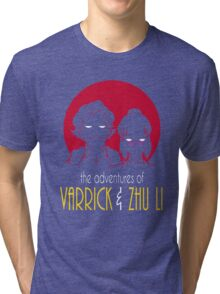 The Adventures of Varrick & Zhu Li Tri-blend T-Shirt