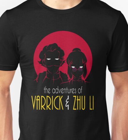 The Adventures of Varrick & Zhu Li Unisex T-Shirt