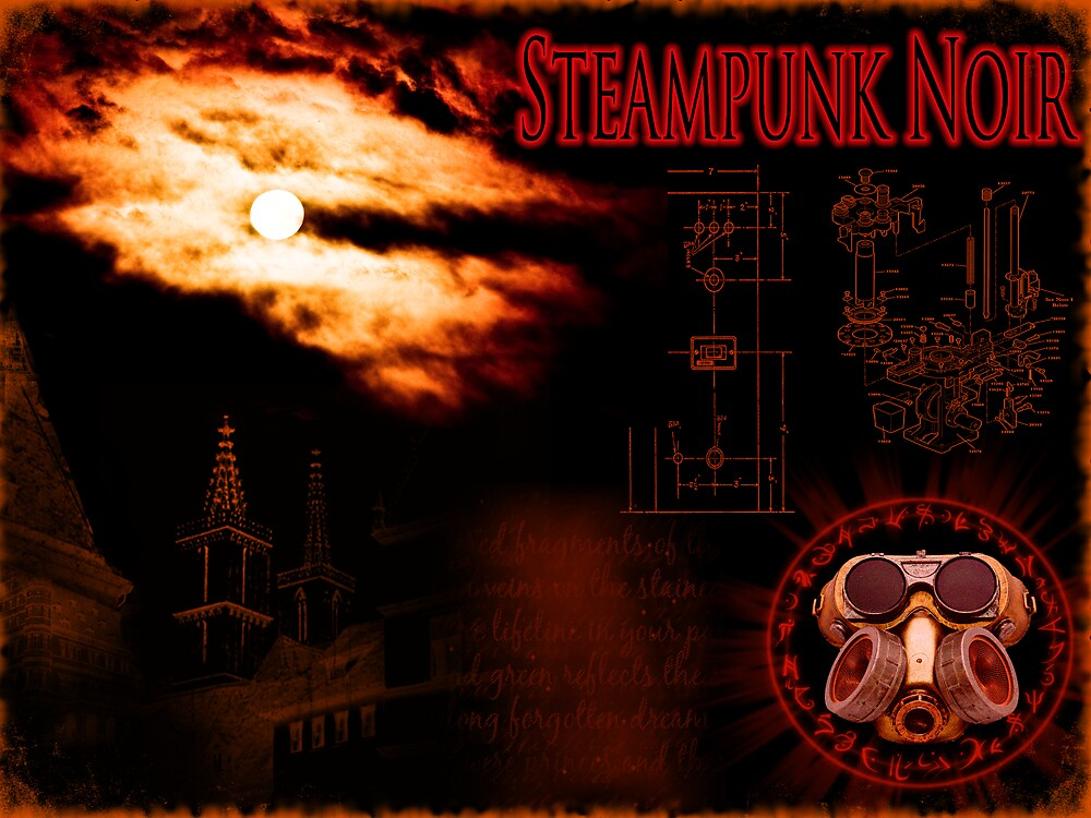 Steampunk Noir by Jon Burke
