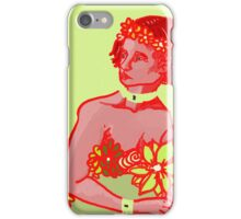 red on green iPhone Case/Skin