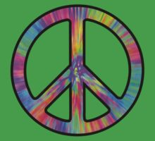 Peace Sign Trippy Kids Clothes