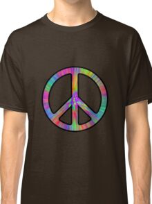 Peace Sign Trippy Classic T-Shirt