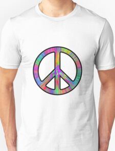 Peace Sign Trippy T-Shirt
