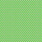 Green Mermaid Scales by ChristaJNewman
