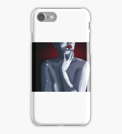 Wine contemplation  iPhone Case/Skin
