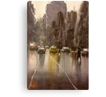 Downpour St.  Canvas Print