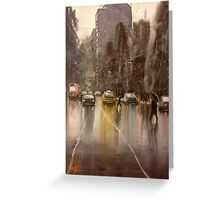 Downpour St.  Greeting Card