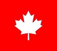 Canada Maple Leaf Flag Emblem by Garaga