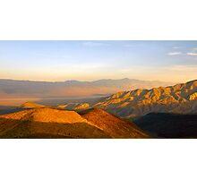 Death Valley Sunset Photographic Print