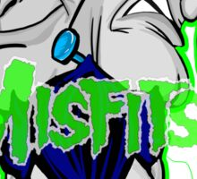 the misfits caricature  Sticker