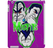 the misfits caricature  iPad Case/Skin