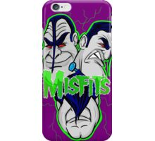 the misfits caricature  iPhone Case/Skin
