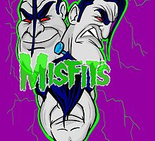 the misfits caricature  by gjnilespop