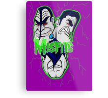 the misfits caricature  Metal Print