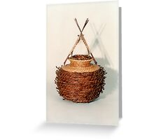 Bound and Unified in Contrast Greeting Card