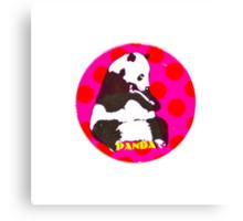 POGS Panda Canvas Print