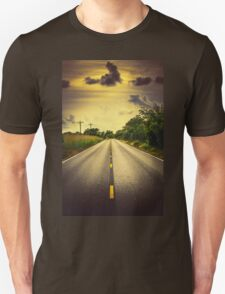 Louisiana Highway 82, an ample opportunity to see gators crossing the road T-Shirt