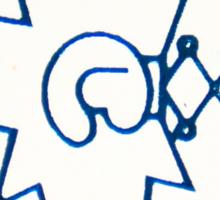 POGS Punch Sticker