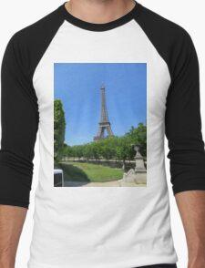 Eiffel Tower Men's Baseball ¾ T-Shirt