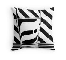 Zebra Juice No1 Throw Pillow