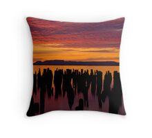 Sleeping Giant Sunrise Throw Pillow