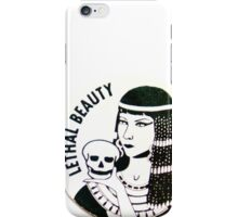 POGS Lethal Beauty iPhone Case/Skin