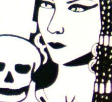 POGS Lethal Beauty Sticker