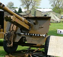 25 PDR Howitzer (photo) by Woodie