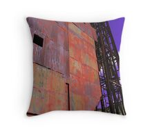 Old Gold Mine Throw Pillow