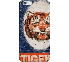 Distressed Detroit Tiger Yearbook 1964 iPhone Case/Skin