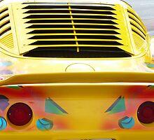 Yellow Vette by florene welebny