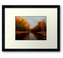 Clouds on the Water, Fire near the Sky Framed Print