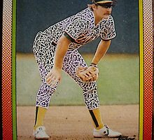 342 - Carney Lansford by Foob's Baseball Cards