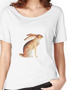 Wise Hare Women's Relaxed Fit T-Shirt
